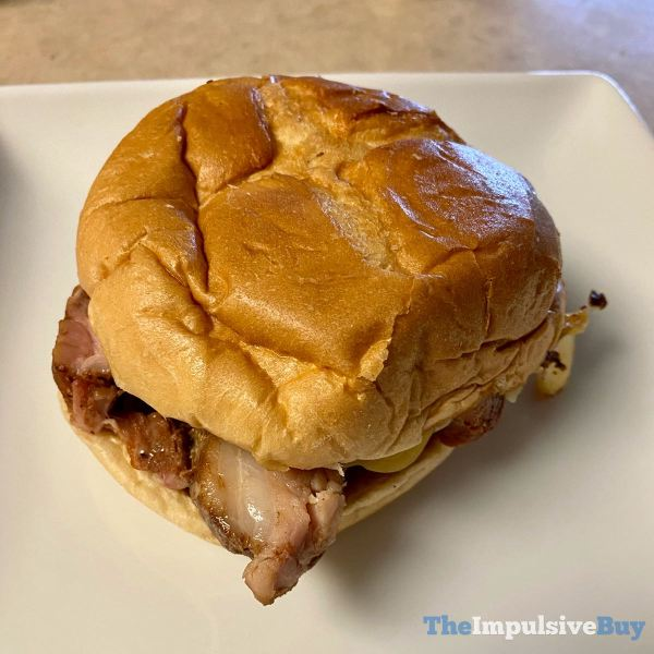 Arby s Real Country Style Rib Sandwich
