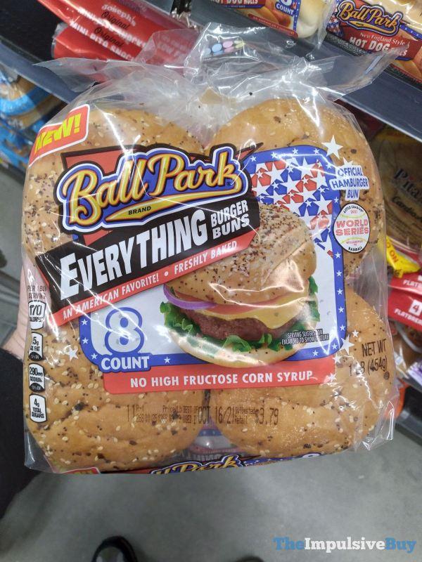 Ball Park Everything Burger Buns