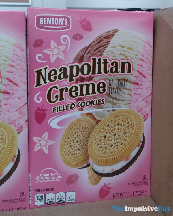 Benton s Neapolitan Creme Filled Cookies