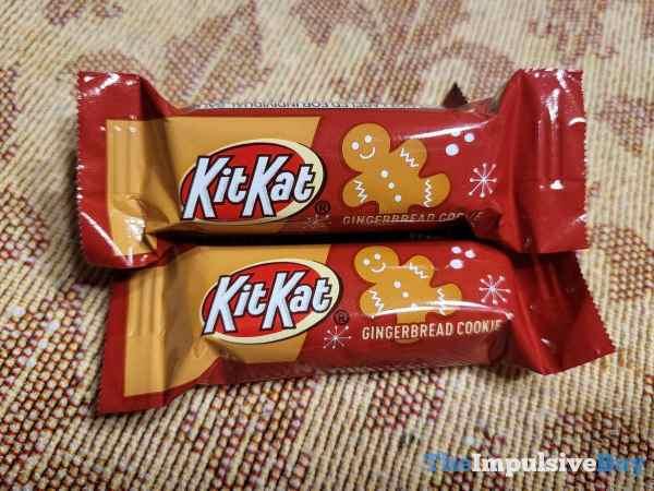 Gingerbread Cookie Kit Kat Wrapper