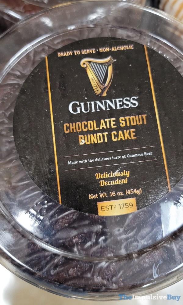 Guinness Chocolate Stout Bundt Cake