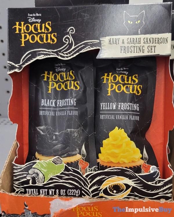 Disney Hocus Pocus Mary  Sarah Sanderson Frosting Set