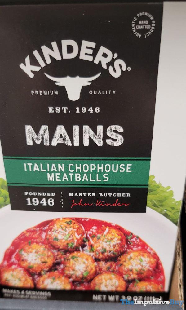 Kinder s Mains Italian Chophouse Meatballs