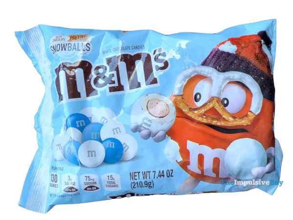 White Chocolate Pretzel Snowballs M M s Bag
