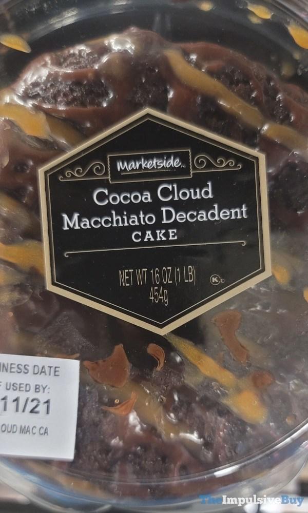 Marketside Cocoa Cloud Macchiato Decadent Cake