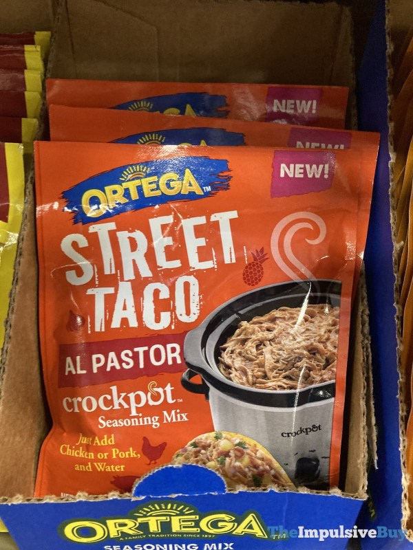 Ortega Street Taco Al Pastor Crockpot Seasoning Mix