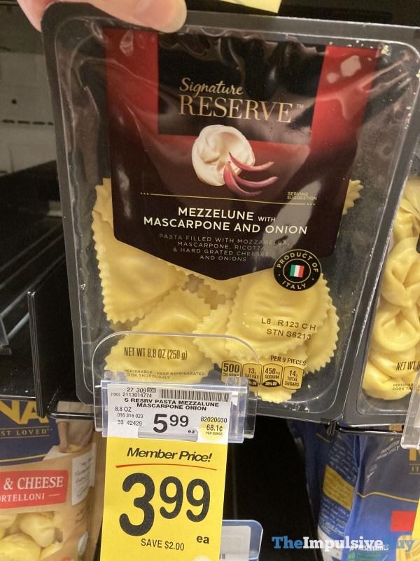 Signature Reserve Mezzelune with Mascarpone and Onion