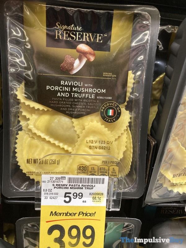 Signature Reserve Ravoili with Porcini Mushroom and Truffle