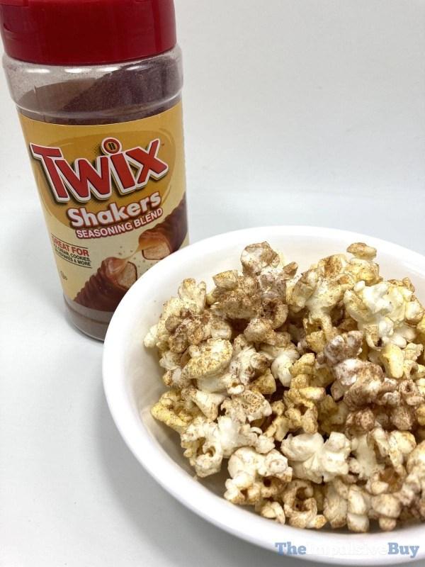 Twix Shakers on Popcorn