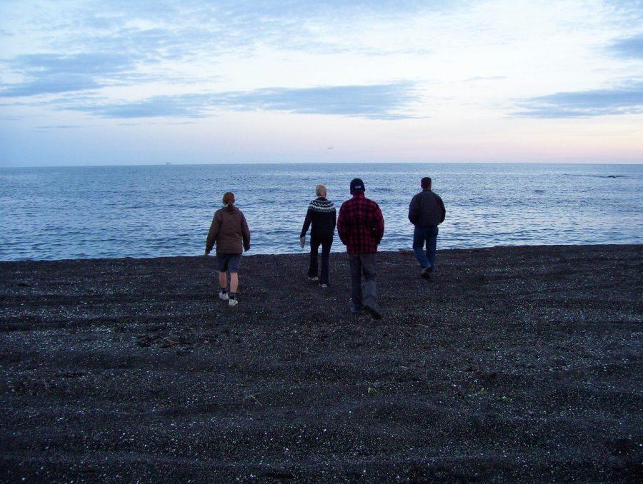 Ashleigh, Jonathan, Saemis, Peter, Black Sand Beach, Iceland