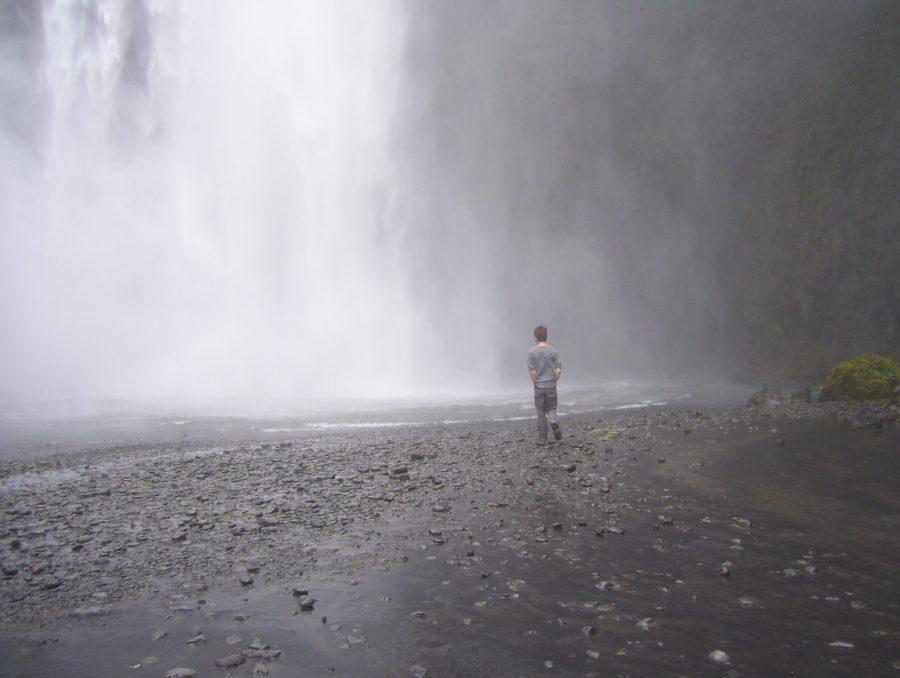 Jonathan, Skógafoss, Iceland