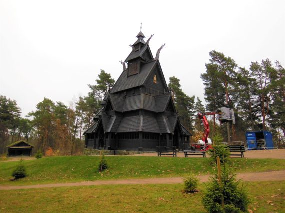 Stave Church, Oslo Folk Museum, Norway