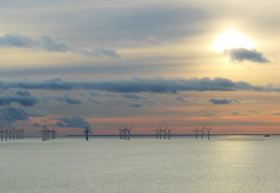 Wind Turbines, Copenhagen, Denmark