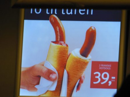 Fransk Hotdog.