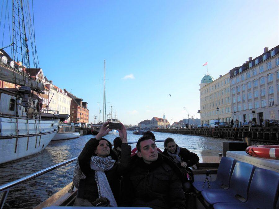 Canal tour, Copenhagen, Denmark