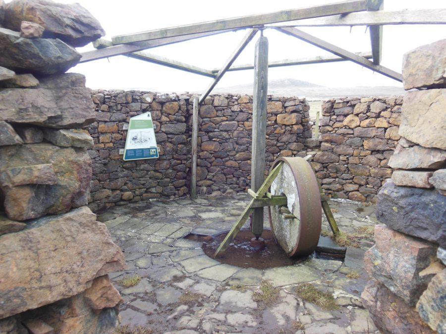 Hagdale horsemill, Unst, Shetland