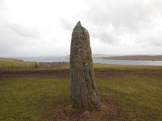 Clivocast stone, Unst, Shetland