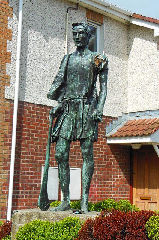 Setanta Statue, Dundalk, Ireland