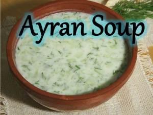Ayran Soup