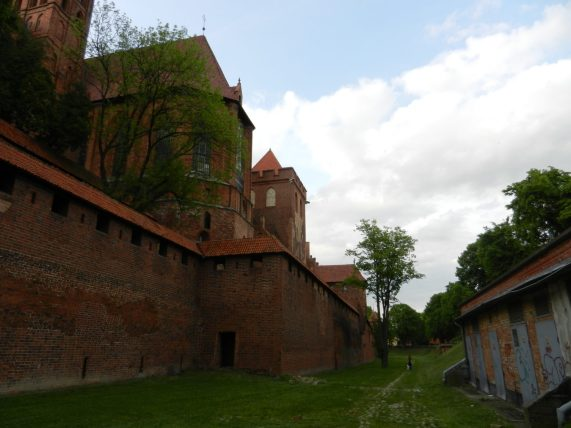 Malbork outer wall
