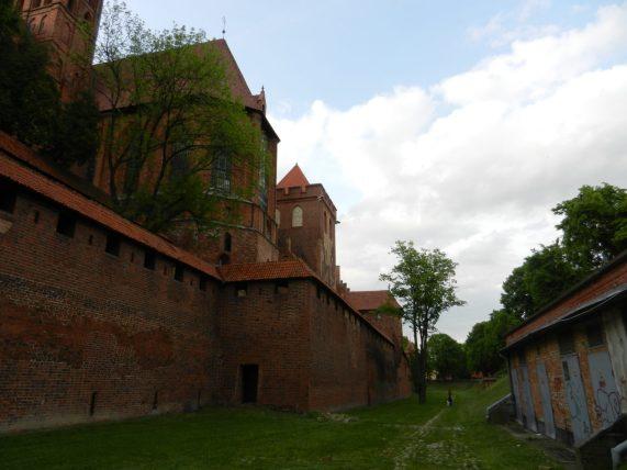 Malbork outer wall