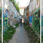 Nathanael Graffiti alleyway, Vilnius
