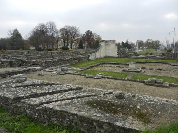 The ruins of Aquinicum
