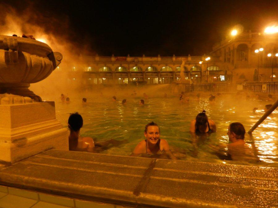 Széchenyi Bath Spa, Budapest, Hungary