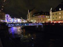 Lights in Ljubljana, Slovenia