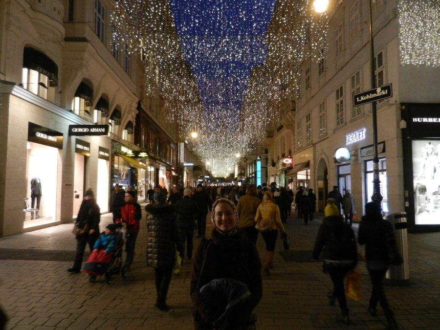 Ashleigh in Vienna, Austria