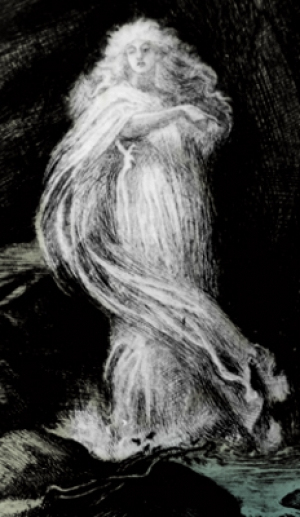 The White Lady, Ghost