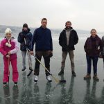 Ashleigh, Nathanael, Mario Ready to skate in Slovakia