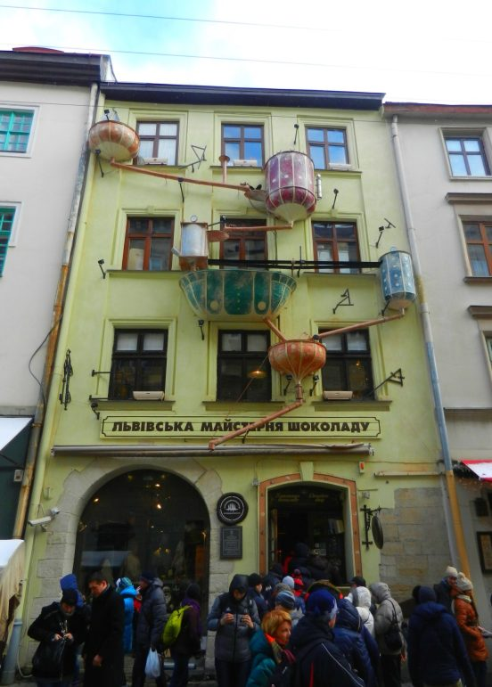 Lviv Chocolate Factory, Ukraine