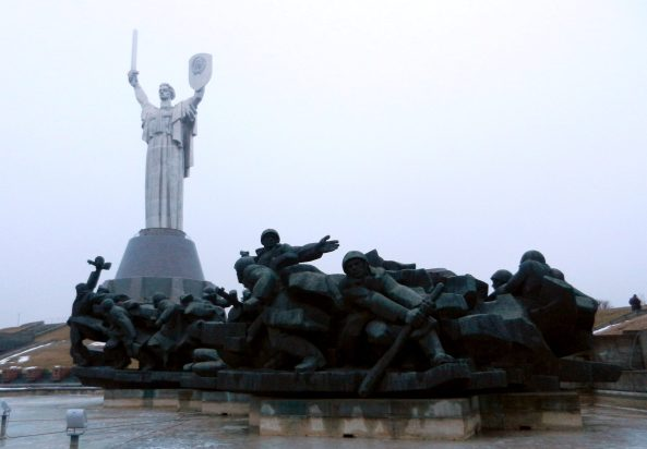 Mother Motherland soldiers, Kiev, Ukraine