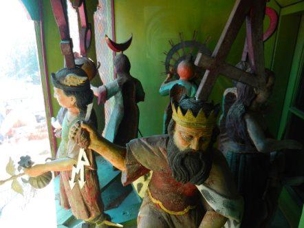 Clock Figurines