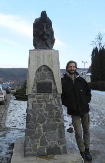 Me and my buddy, Vlad Dracula