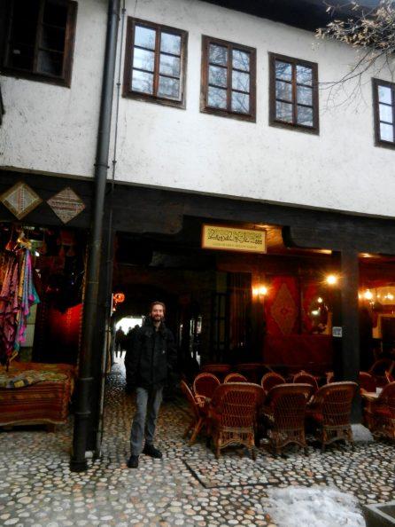 Morica Han, Sarajevo