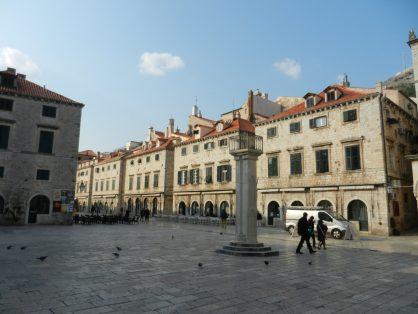 Main Square, Dubrovnik, Croatia