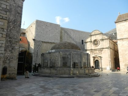 Onofrio's Fountain, Dubrovnik, Croatia