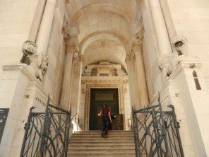 Entrance to Diocletian's Mausoleum, Split, Croatia