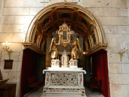Altar, Cathedral of St. Domnius, Split, Croatia