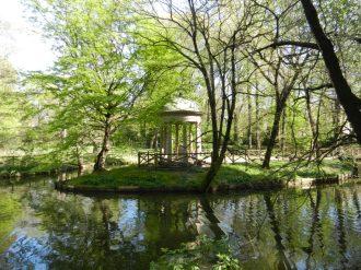 Gazebo in Giardini Pubblici Indro Montanelli in Milan