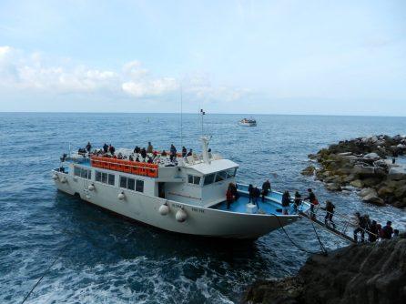 Ferry, Cinque Terre, Italy