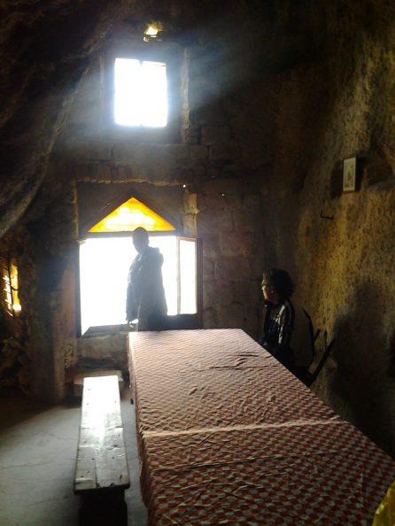 Inside Cave Hermitage, Marjan Park, Split, Croatia