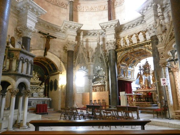 Mausoleum of Diocletian, St. Domnius Cathedral, Split, Croatia