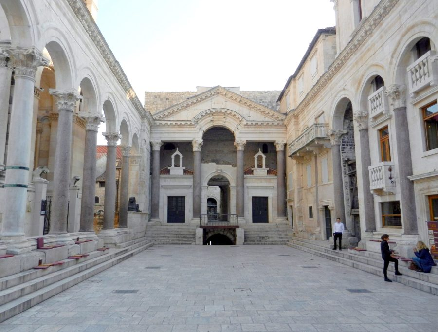 Peristyle Plaza, Diocletian's Palace, Split, Croatia
