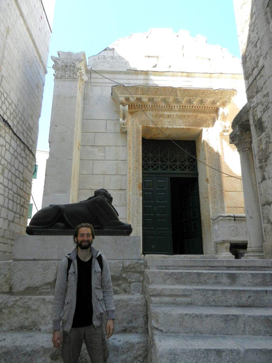 Temple of Jupiter, Split, Croatia