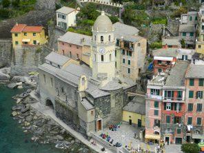 Vernazza Church, Cinque Terre, Italy