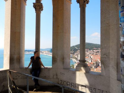 Views from the Bell Tower, Domnius Cathedral, Split, Croatia