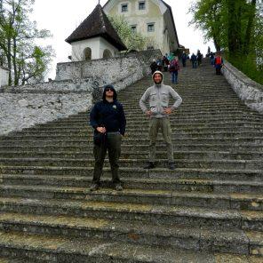 99 Steps, Church of Assumption, Bled, Slovenia